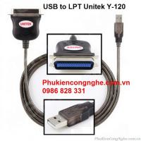 Cáp chuyển đổi USB to LPT chính hãng Unitek Y-120