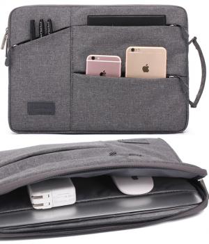 Túi chống sốc Laptop 13 inch nhiều ngăn có quai cầm KAYOND