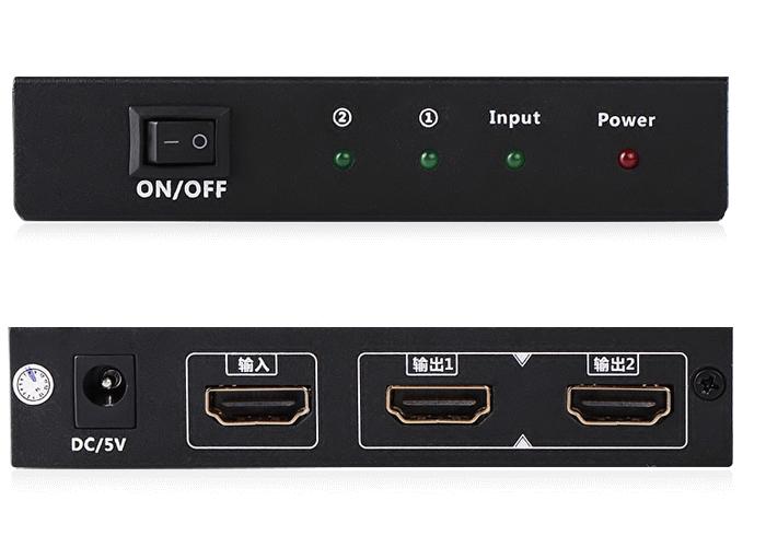 Bộ chia HDMI 1 ra 2 full HD Chính hãng Ugreen UG-40201