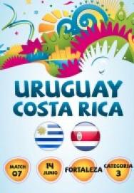 World Cup 2014 – Bảng D – Uruguay vs Costa Rica ()