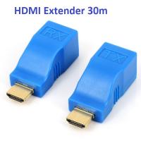 Bộ kéo dài HDMI Extender 30m bằng dây Lan RJ45