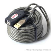 Cáp USB 15m Có IC khuếch đại tín hiệu chính hãng Unitek Y-265