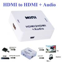Bộ chuyển đổi HDMI to HDMI + Audio 3.5mm L/R HDMI2HDMI